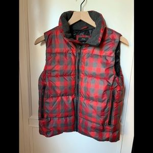 GAP winter warmth flannel vest